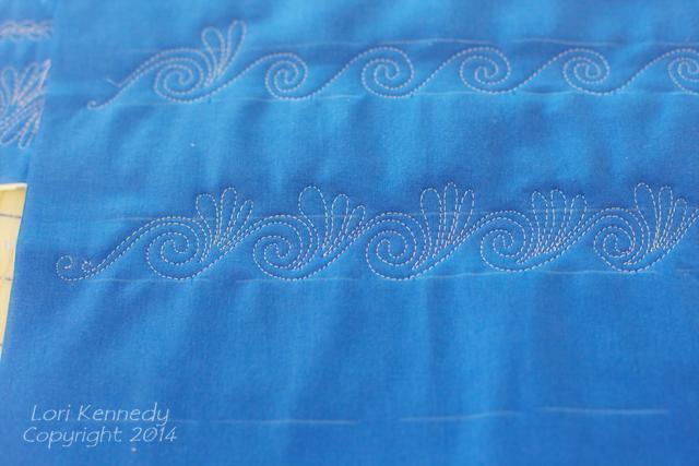 Free Motion Quilt Tutorial-Swirls