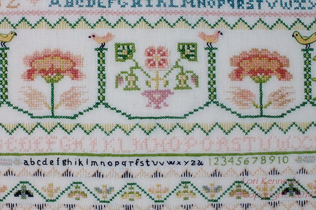 Embroidery, Sampler