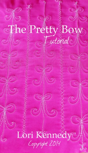 The Pretty Bow-Free Motion Quilting