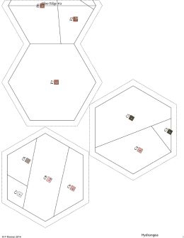 Reversed Hexagon Templates