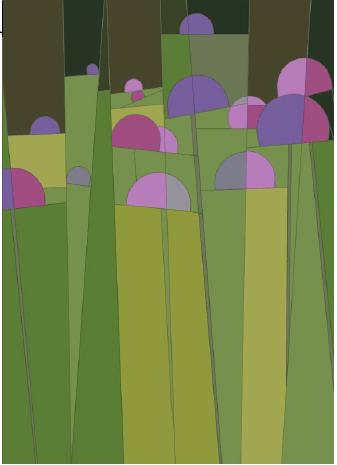Allium Paper Pieced, Pattern