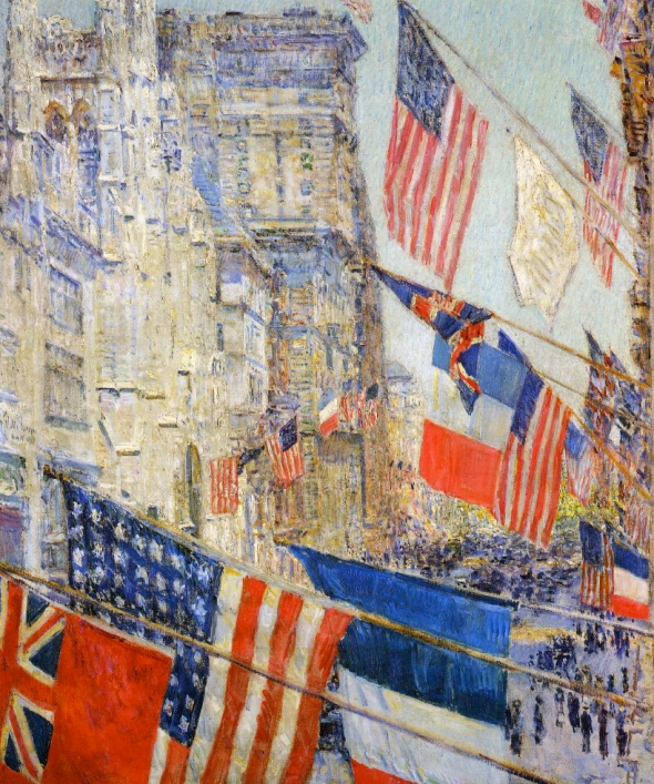 Allies Day, Hassam
