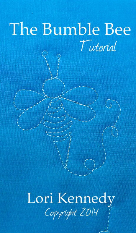 The Bumble Bee Free Motion Quilting