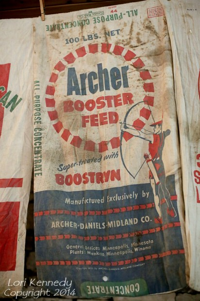 Feed sacks