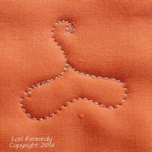 Oak Leaf and Acorn Free Motion Quilt Pattern