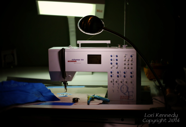 Clamp Light On Sewing Machine