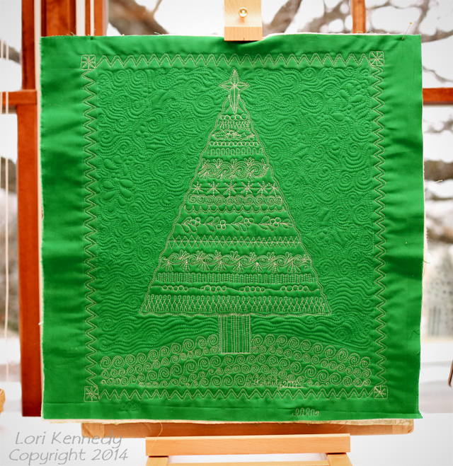 Christmas Tree Sampler Quilt Giveaway