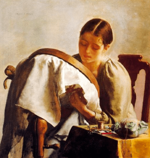Charles Ulrich, Seamstresses in Fine Art
