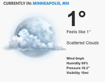weather Minnesota