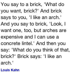 Brick wall quote