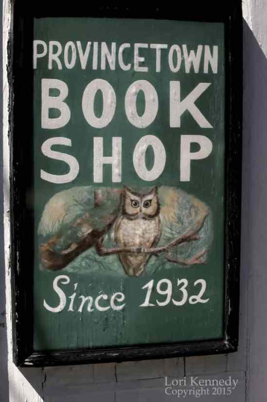 Owl, Book Shop sign