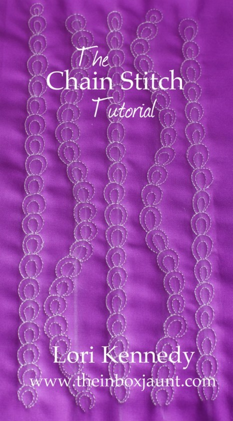 FMQ, Tutorial, Chain Stitch
