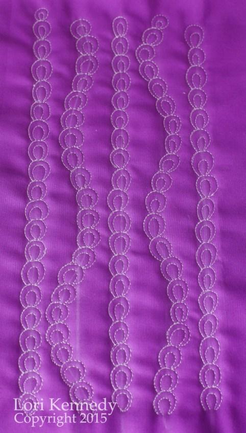 FMQ, Tutorial, Chain Stitch