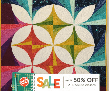 Quilting Craftsy Sale