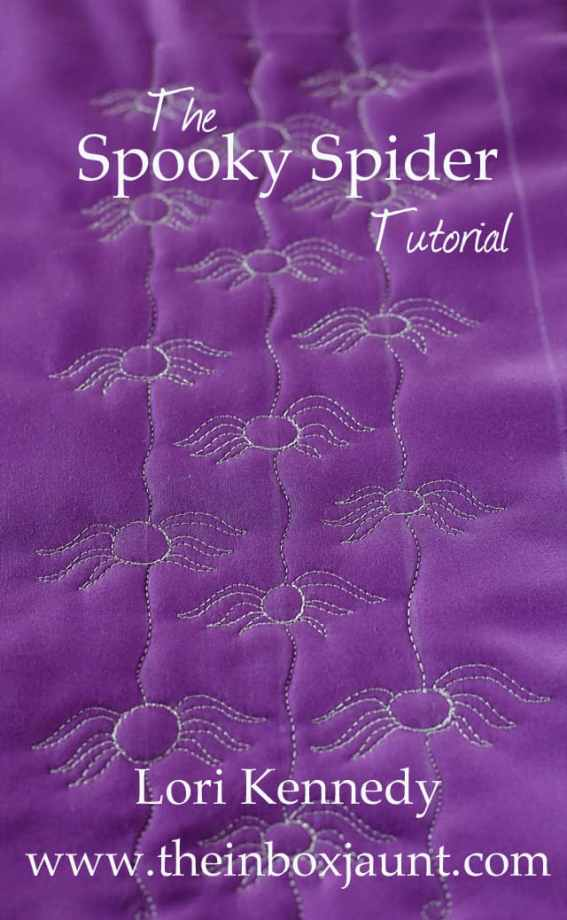 How to Quilt a Spider Pattern