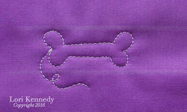 Dog Bone, Quilt Tutorial, Lori Kennedy