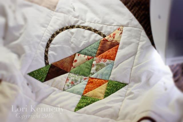 Basket Quilt, Lori Kennedy