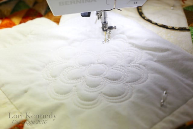 Machine Quilting, Basket Quilt