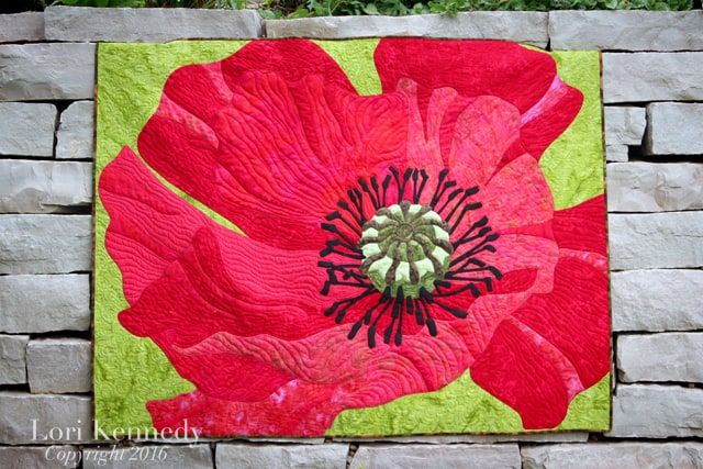 Poppy Quilt, Lori Kennedy