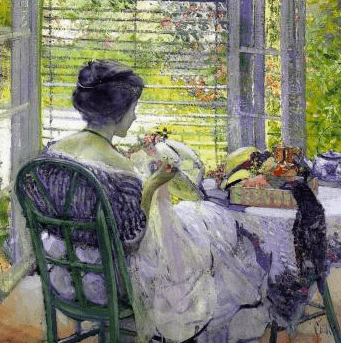 The Milliner, Richard E. Miller