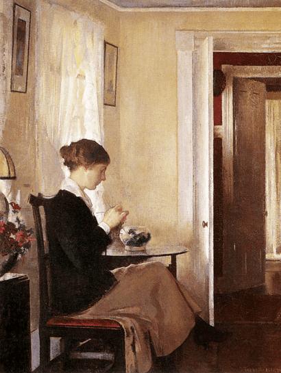 Josephine Knitting, Edmund Tarbell