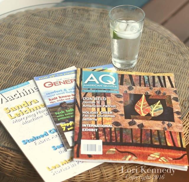 Quilting Magazines, Lori Kennedy