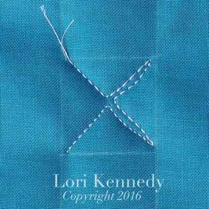 Lori Kennedy, Machine Quilting, Tutorial, X