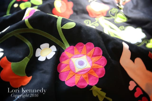 Annie Smith Applique, Lori Kennedy Machine Quilting