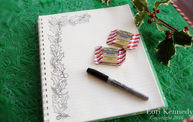 How to Doodle Holly, Lori Kennedy
