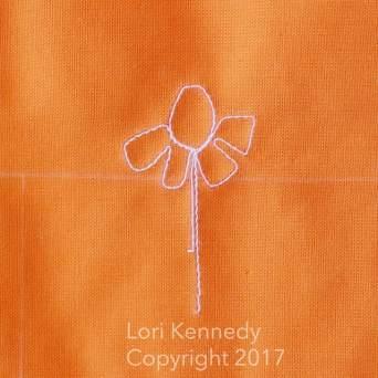 Daffodil FMQ Tutorial, Lori Kennedy