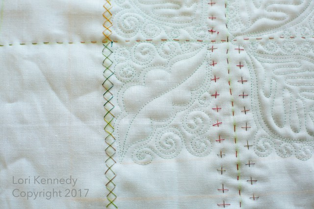 Machine Quilting, Hand Quilting