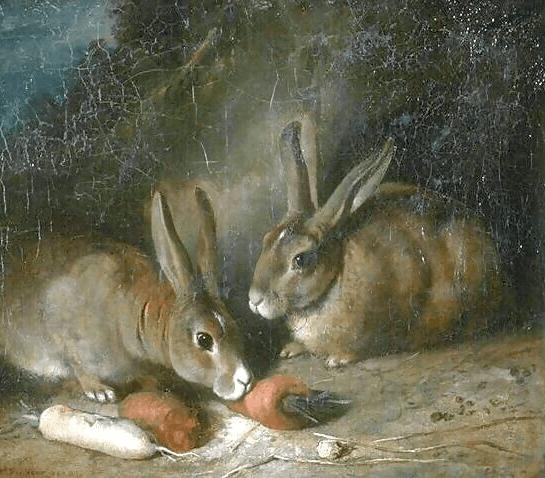 Rabbits, Rosa Bonheur