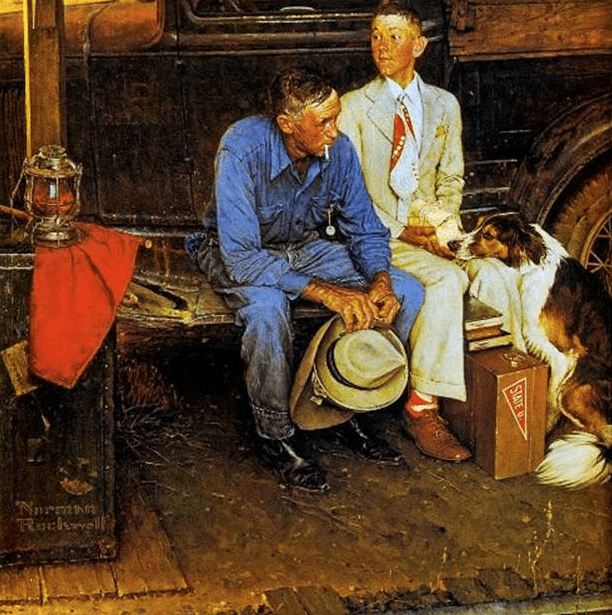 Norman Rockwell, Breaking Home Ties