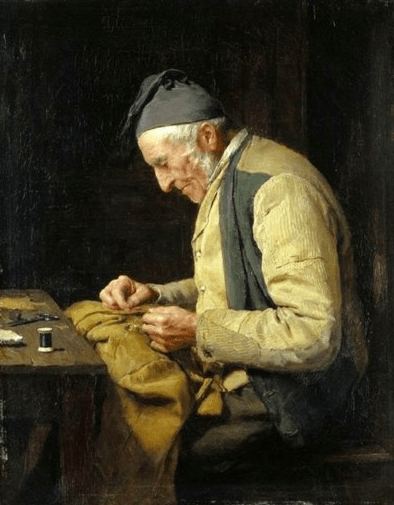 Albert Ankers, The Village Tailor