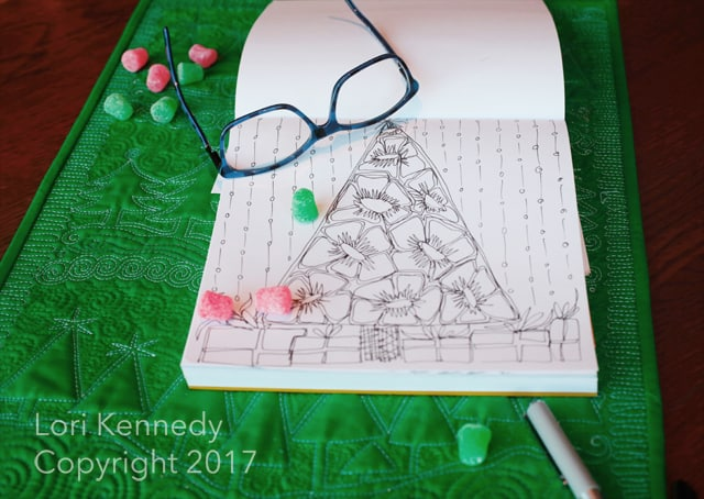 How to Doodle Christmas trees