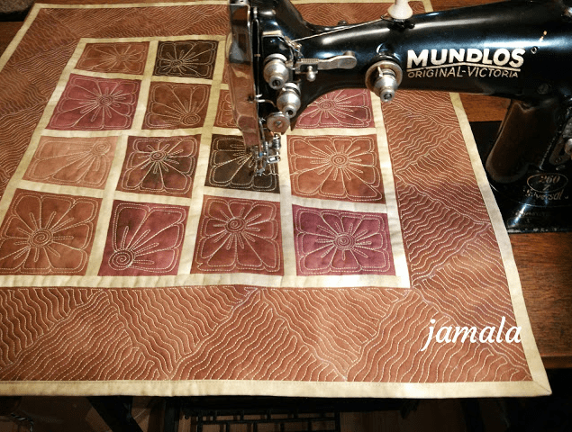 Jamala, Treadle Quilting