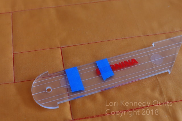 Ruler work, Lori Kennedy