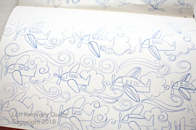 Doodles, Airplanes, Lori Kennedy
