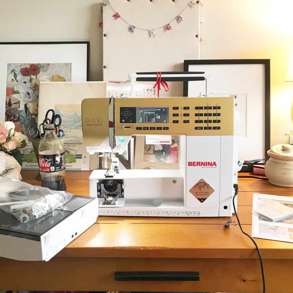 Nora: First (Mis)Adventures with My New BERNINA Sewing