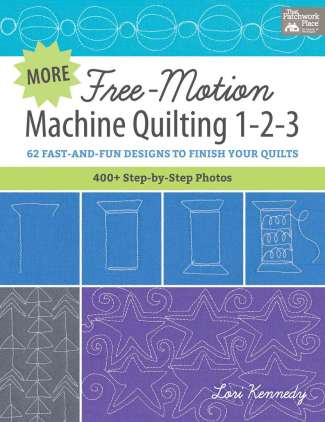 More Free Motion Machine Quilting 1-2-3