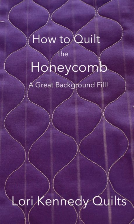 Honeycomb, Machine Quilting Tutorial