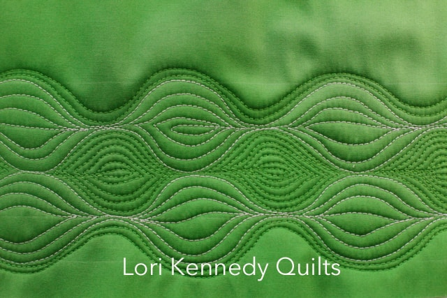 Lori Kennedy, Machine Quilting, Hosta