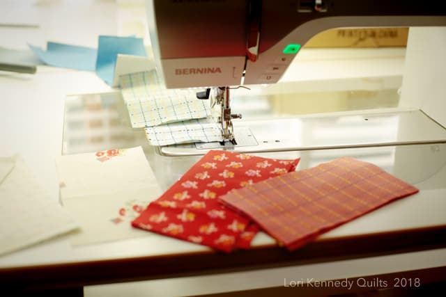 Quilt piecing, BERNINA