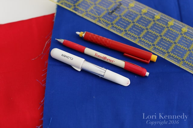 Quilt Marking Tools, Lori Kennedy