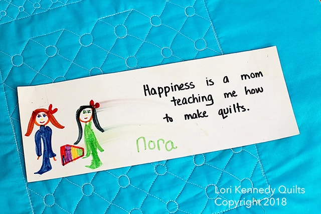 Nora, Child's Drawing