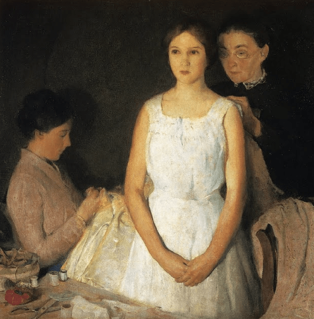 The Trousseau, Charles Webster Hawthorne