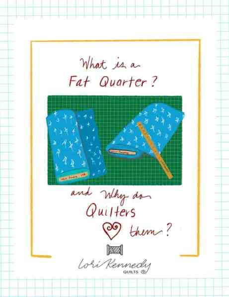 Fat Quarter Illustration, Lori Kennedy