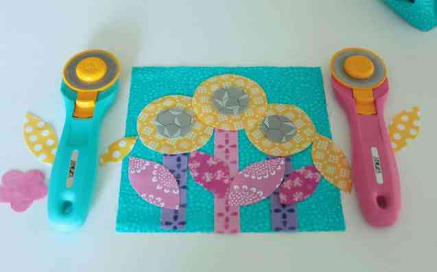 "Rotary cutter ""flowers"""