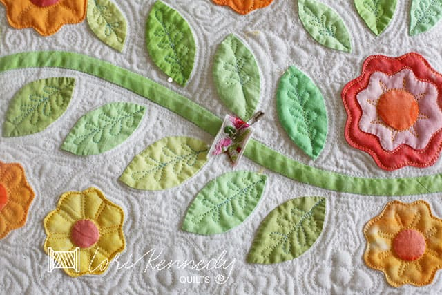 A flagged quilting mistake