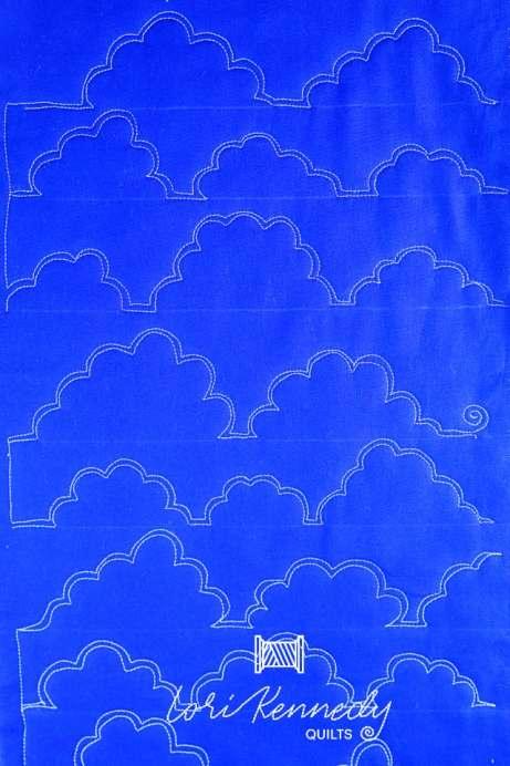 Quilt a cloud